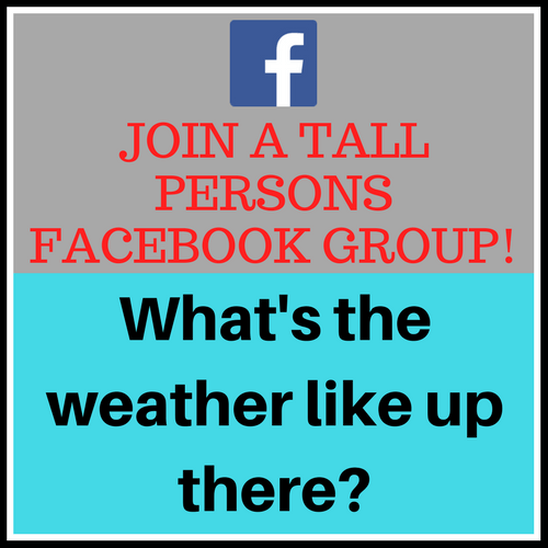 Facebook Group, tall people facebook group, tall group, tall help, tall society