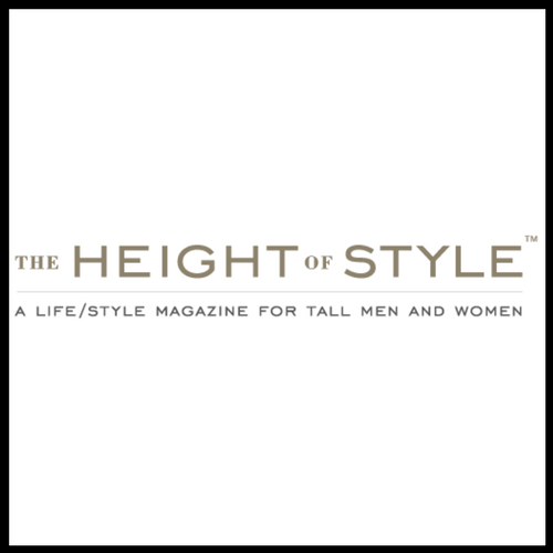 Height of style, tall blog, tall magazine, tall fashion, tall style